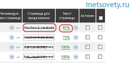 сервис, который анализирует релевантность текста — Megaindex