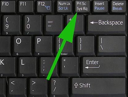 как пользоваться принт скрином на ноутбуке