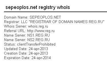 Отзывы о sepeoplos.net