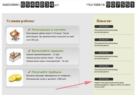 выплаты на сайте sepeoplos.net