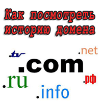 история домена ru