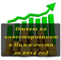 Результаты инвестиций в Памм-счета Форекс Тренд