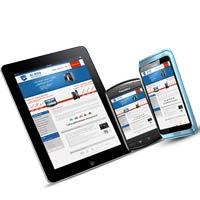 отображение сайта на смартфонах и планшетах