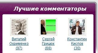 победители конкурса комментаторов в марте 2015 года