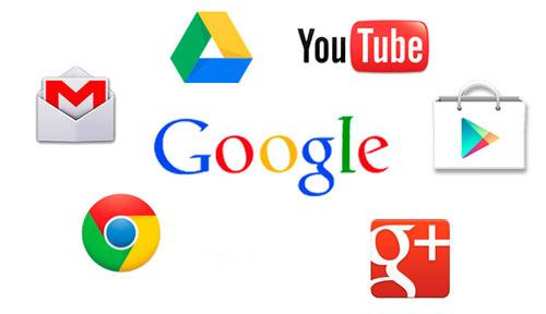 Сервисы, к которым дает доступ учетная запись в Гугл