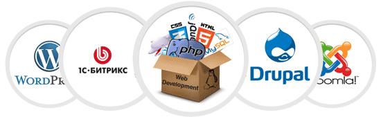 Какие сайты можно создать на CMS-платформах