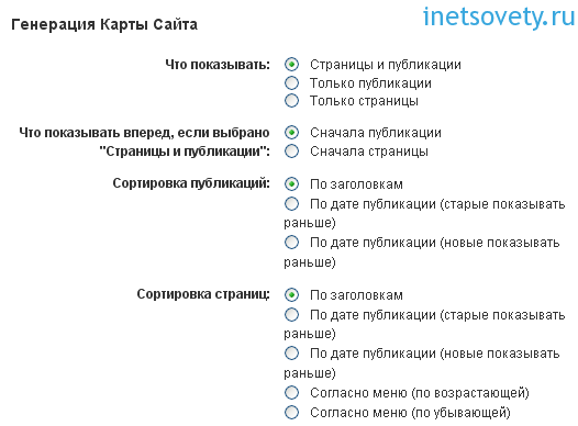 Как настроить карту сайта для WordPress