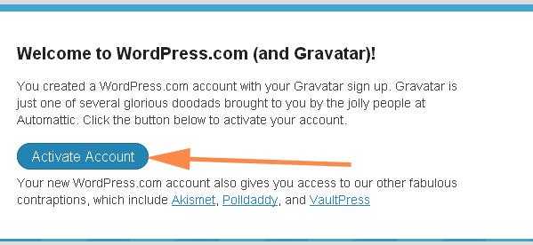 Регистрация в Gravatar. Как настроить аккаунт в Gravatar?