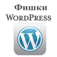 интересные моменты и фишки WordPress