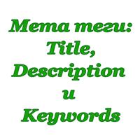Как использовать мета теги Title, Description и Keywords для продвижения статей на сайте