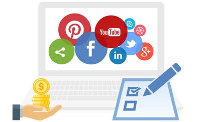 За какие действия в социальных сетях платят деньги