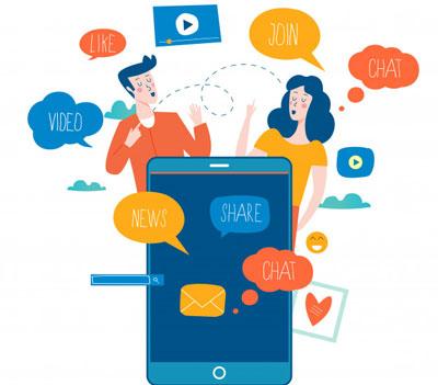 Какие возможности общения и обмена информацией в соцсетях