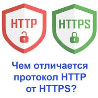 Чем отличается протокол HTTP от HTTPS?