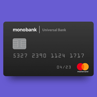 Обзор украинского банка Monobank